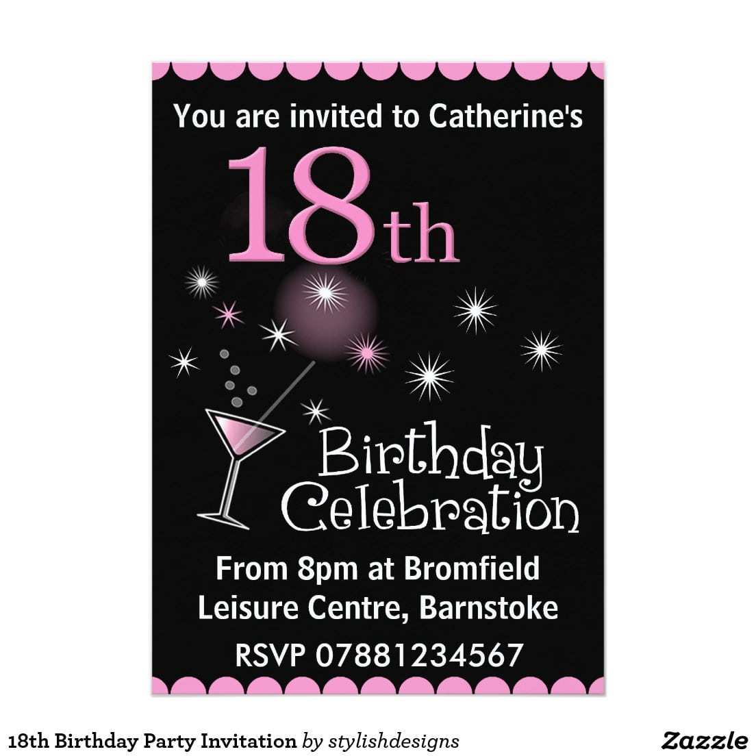 Invitations For 18th Birthday Party Image Collections