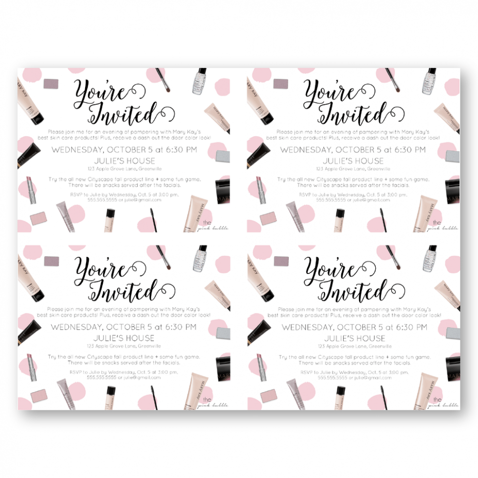 Mary kay party invitation templates mickey mouse invitations templates mary kay party invitation templates stopboris Choice Image