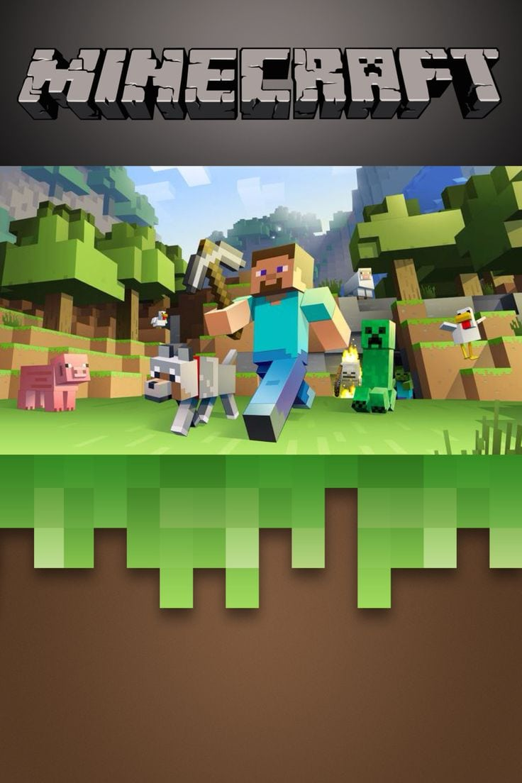 Minecraft Party Invitation Template Free Image Collections