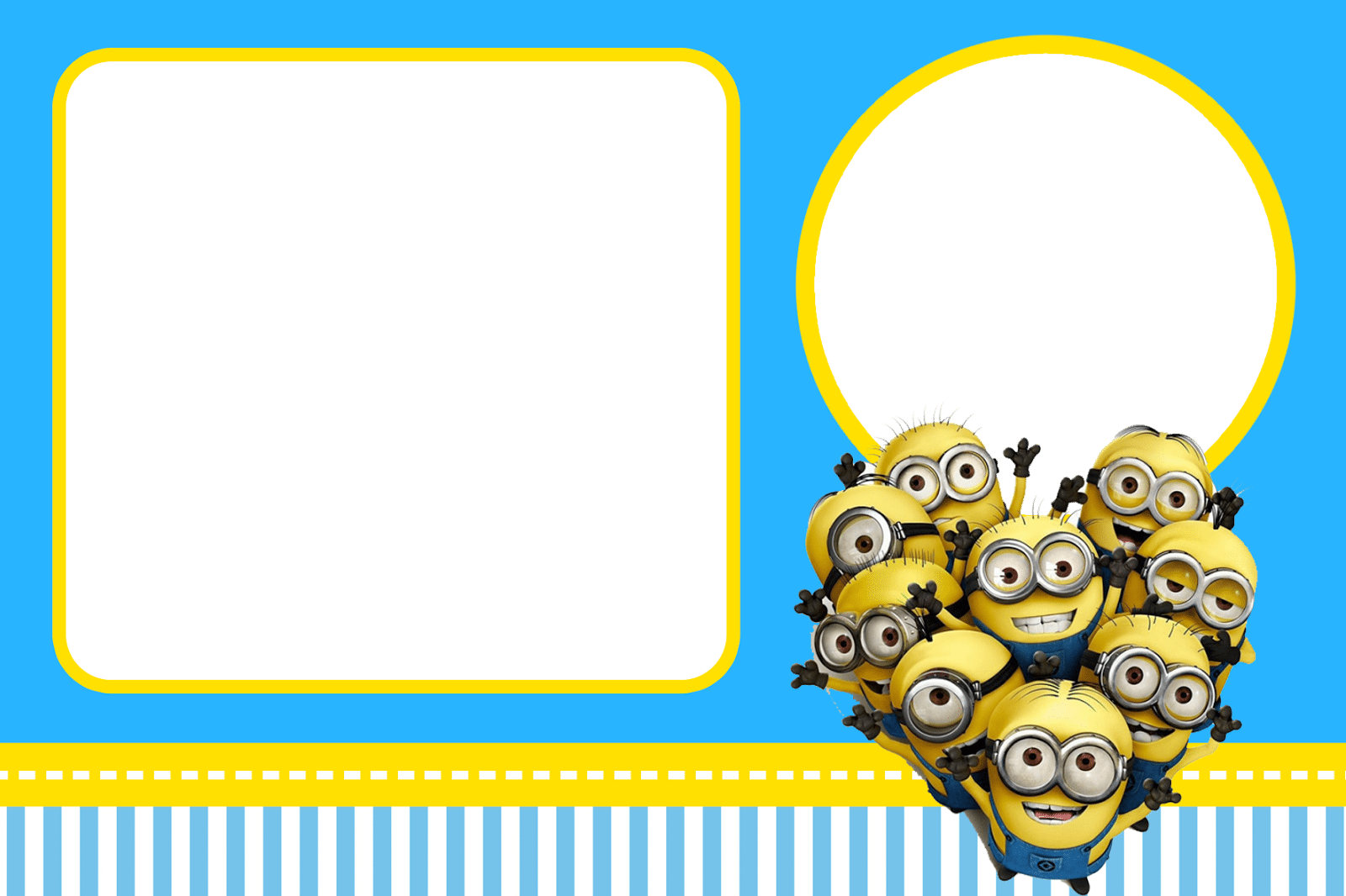 Minions Party Invitations Minions Party Invitations With