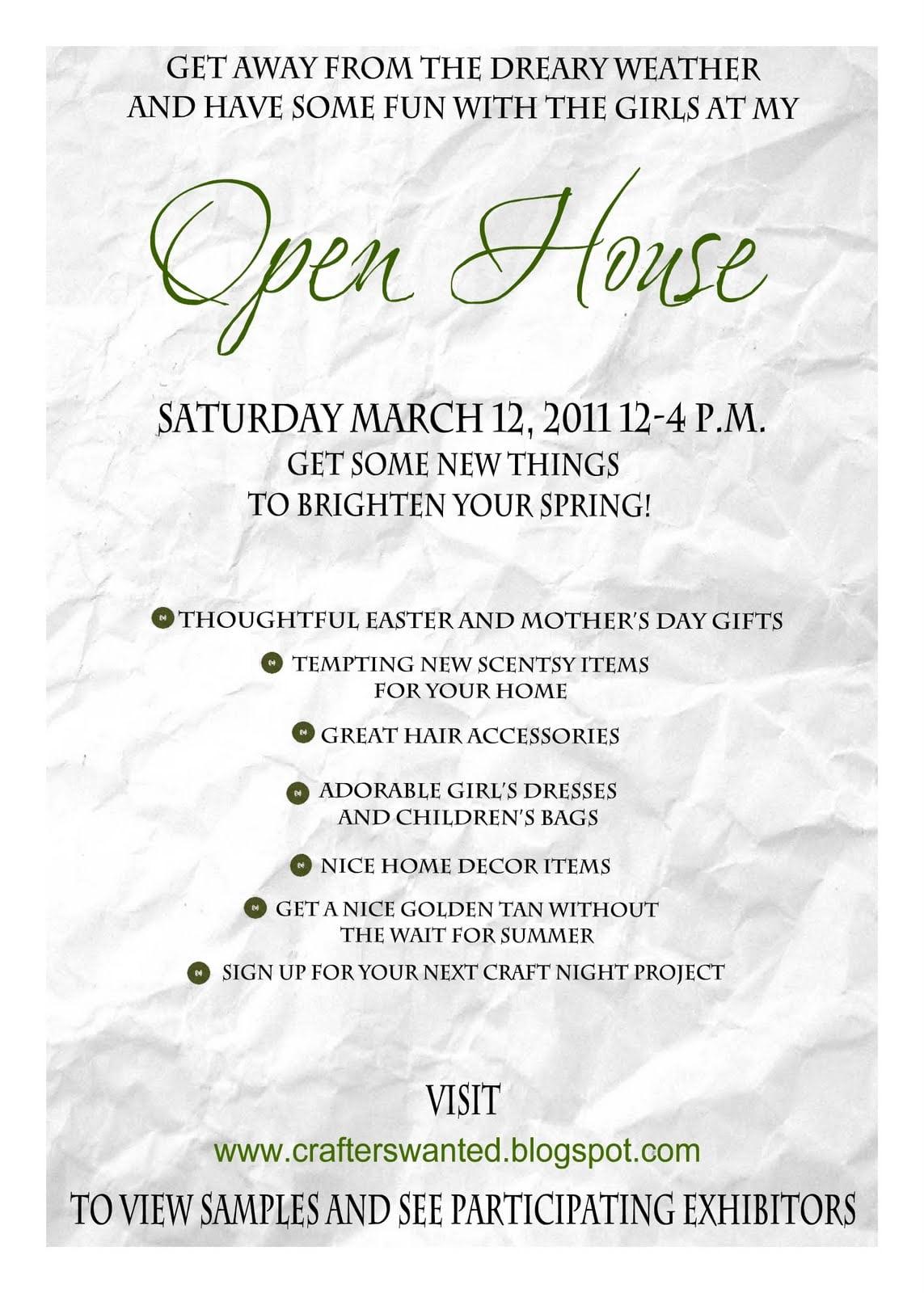 Open House Housewarming Party Invitation Wording – Shuangyi Zhongge