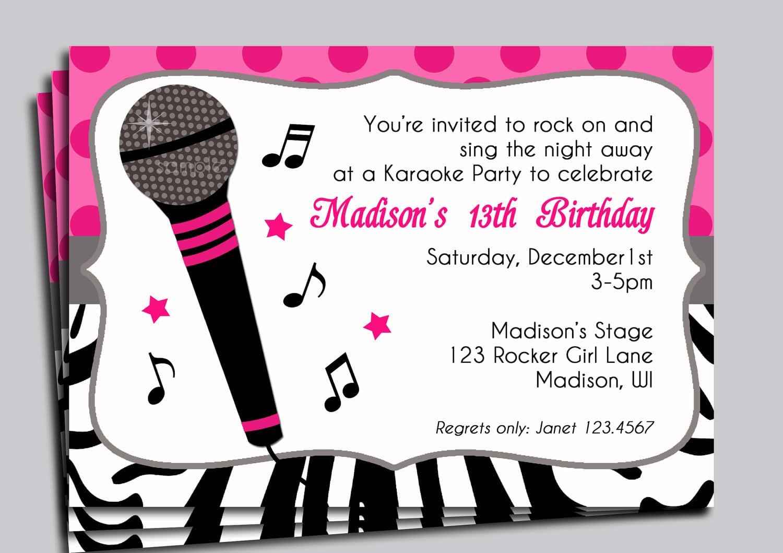 Party Invitation Design Ideas