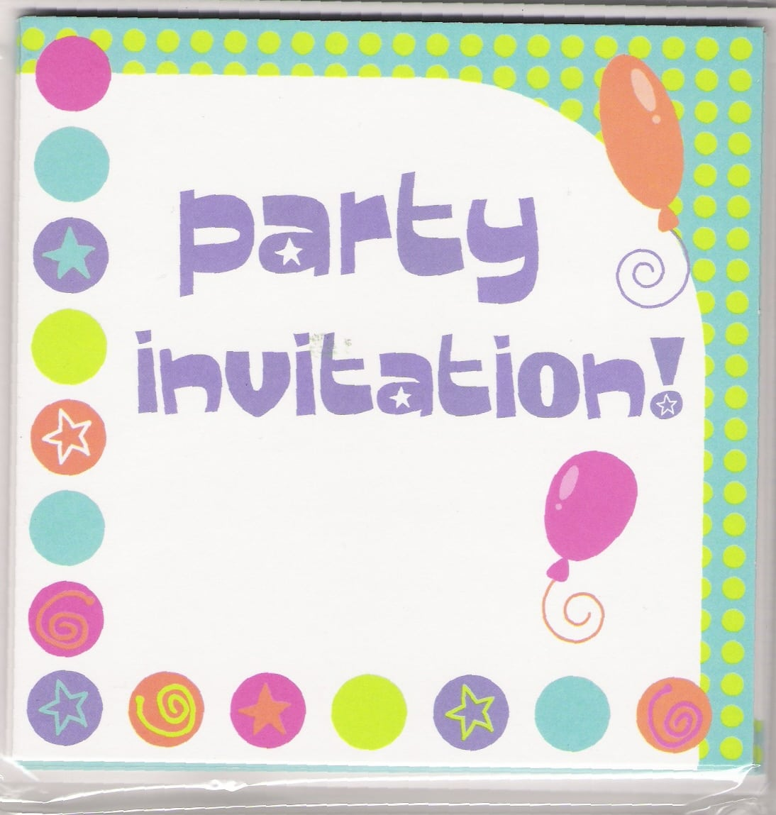 Invitation For Party