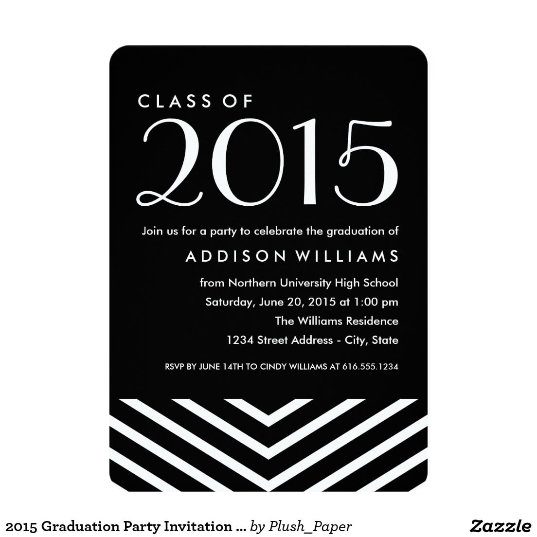 Party Invitations  10 Best Graduation Party Invite Cards High