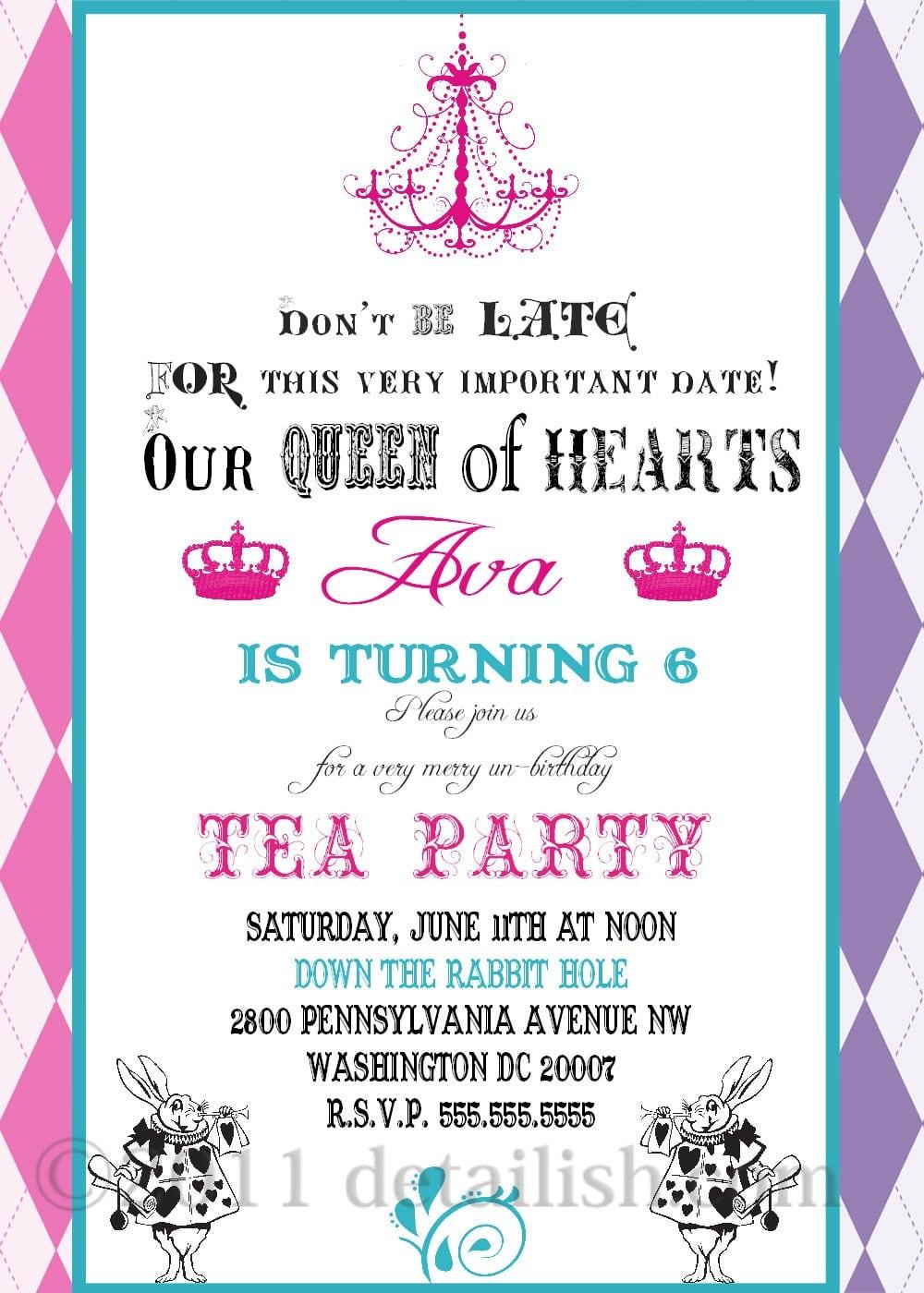 Party Invitations Ideas