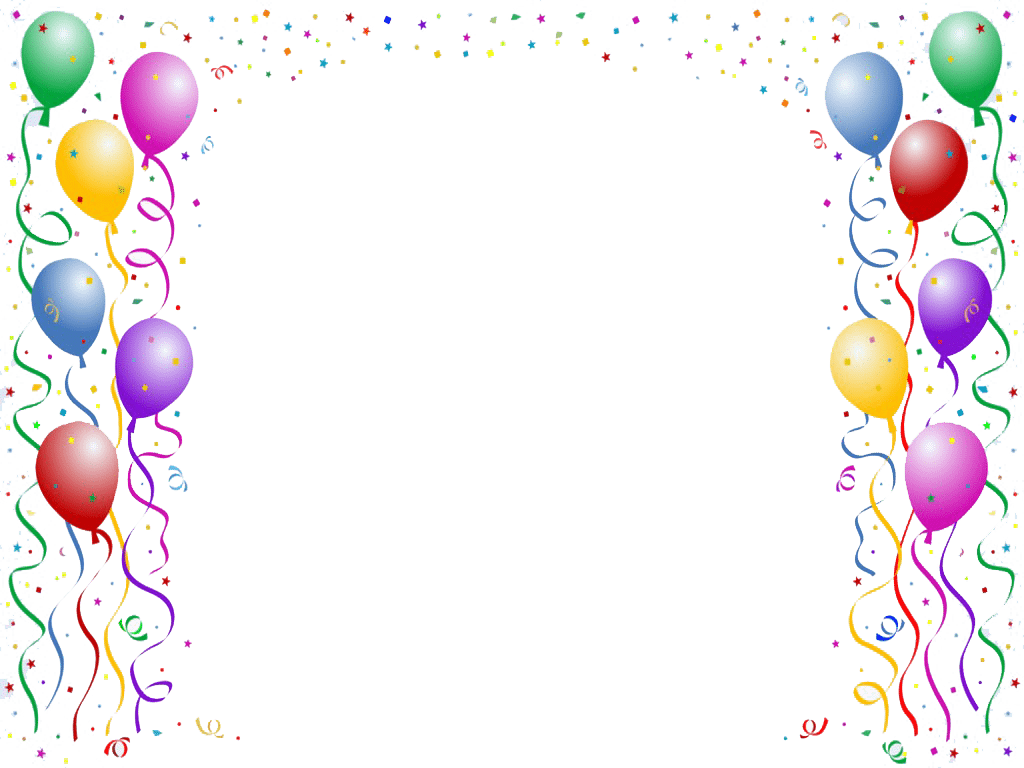 Party Invite Borders