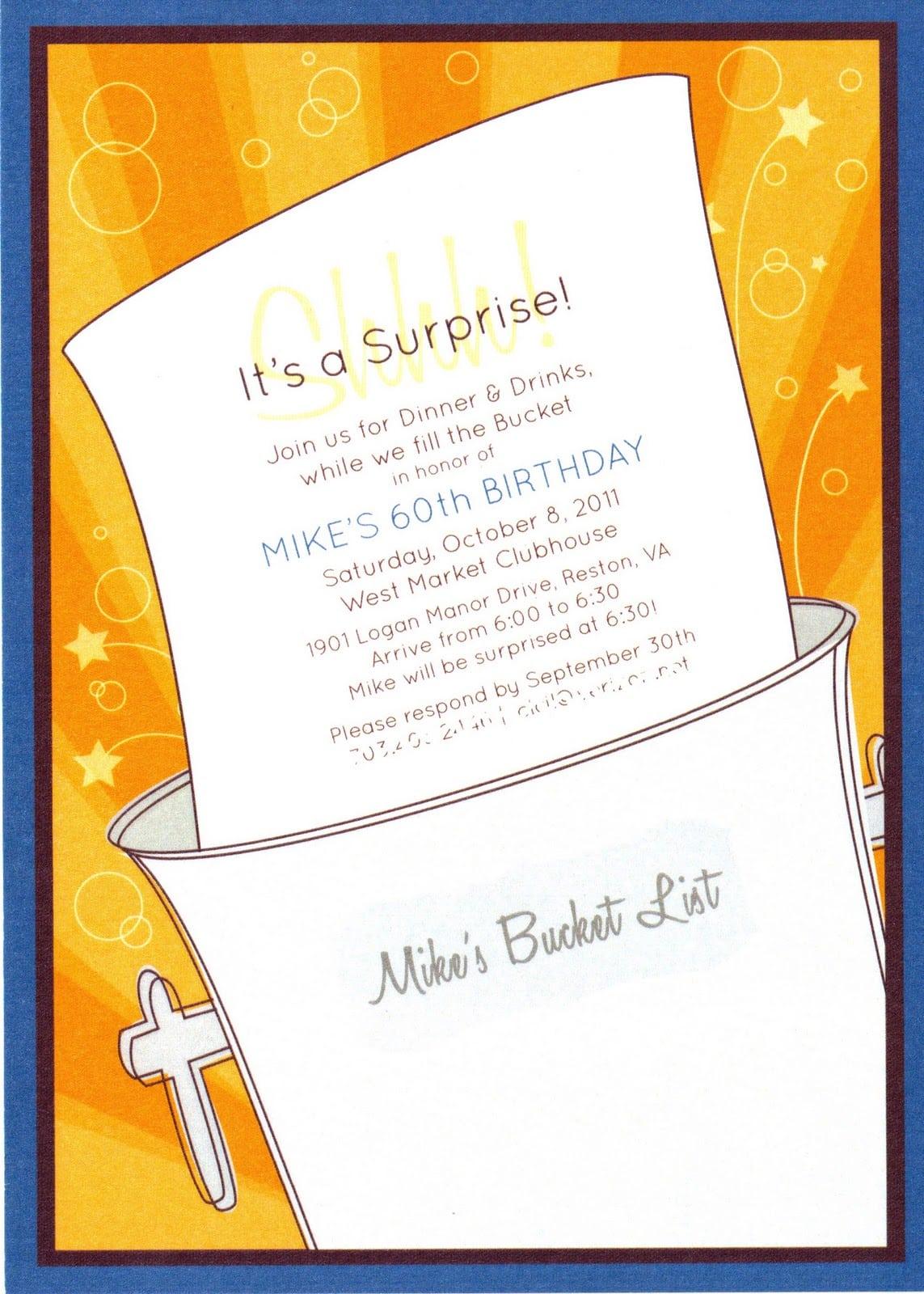 Posh In A Pinch  {event Showcase} Bucket List 60th Birthday