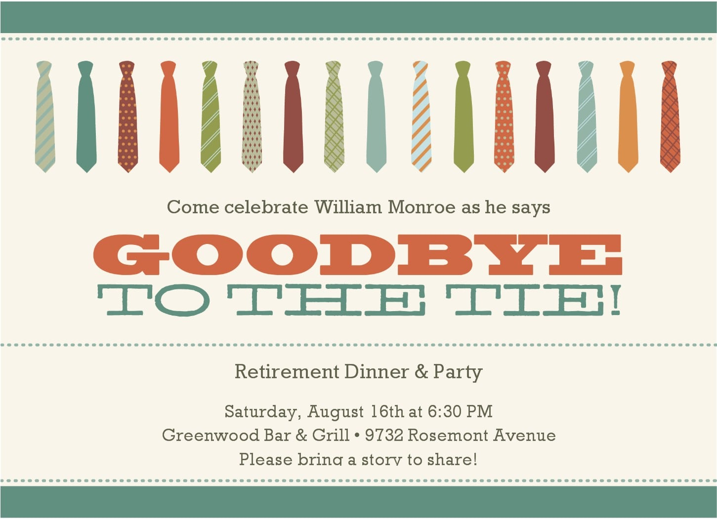 Retirement Party Invites Retirement Party Invites In Support Of