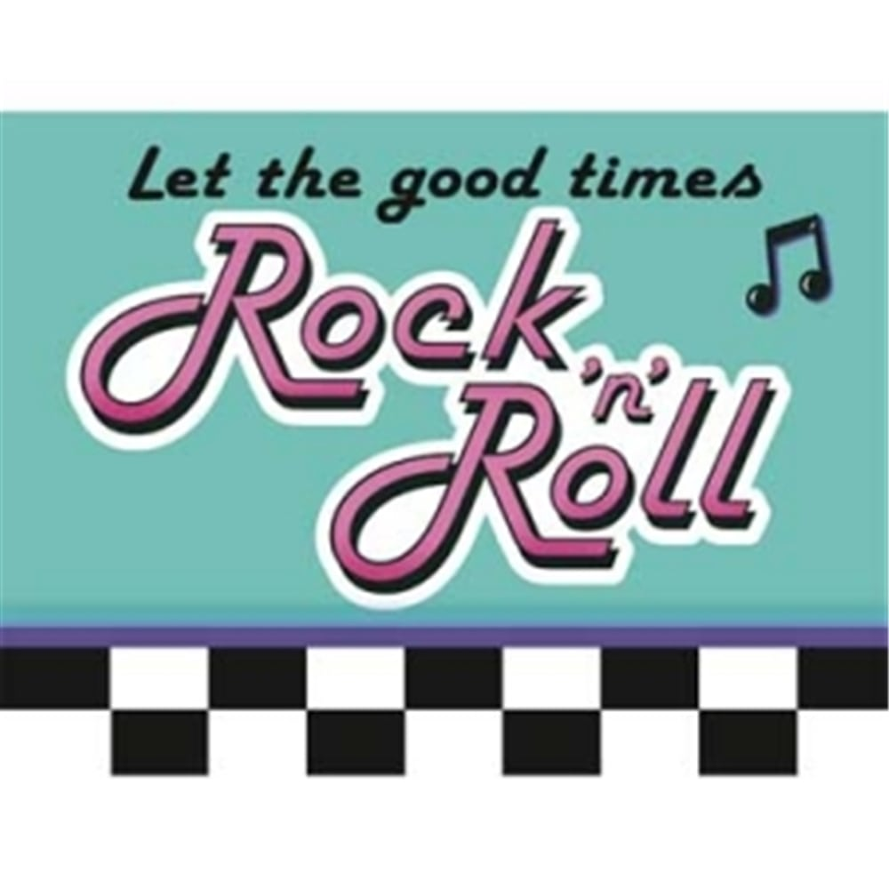 Rock And Roll Invites 8ct