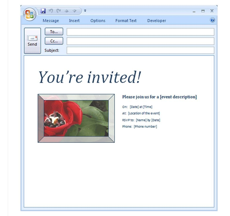 Stunning Party Invitation Email Sample About Cheap Article Happy