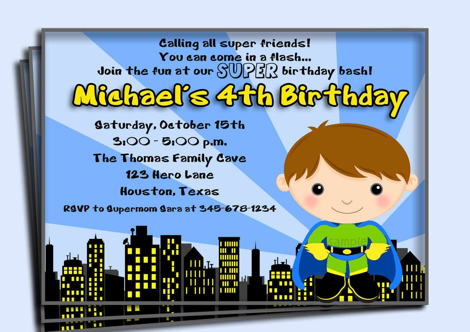 Superhero Birthday Party Invitation Wording - Mickey Mouse ...
