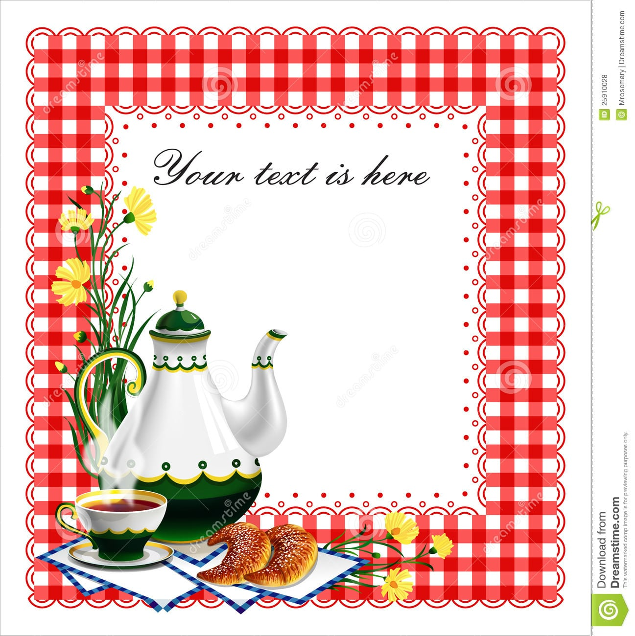 Tea Party Clipart Holiday Tea