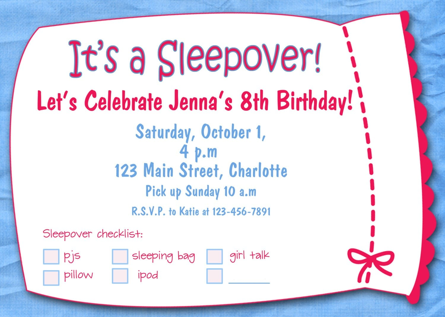 Template   Free Birthday Party Invitations Templates Printable