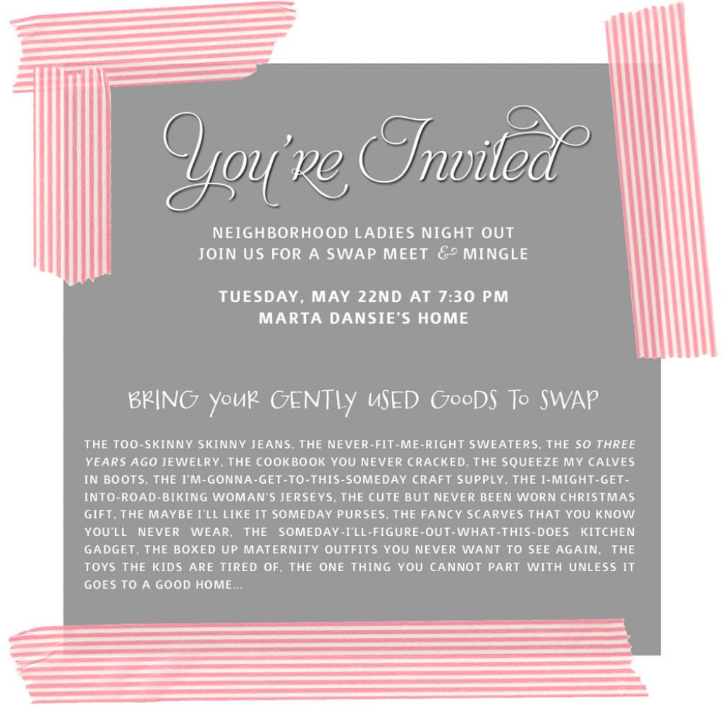 Tupperware Party Invitations Gallery