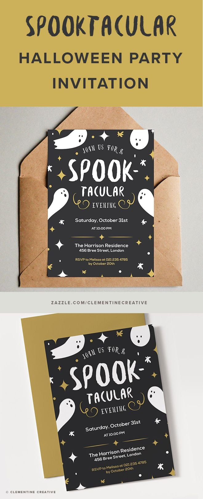 Uncategorized ~ Halloween Party Invitations Carnival Ideas
