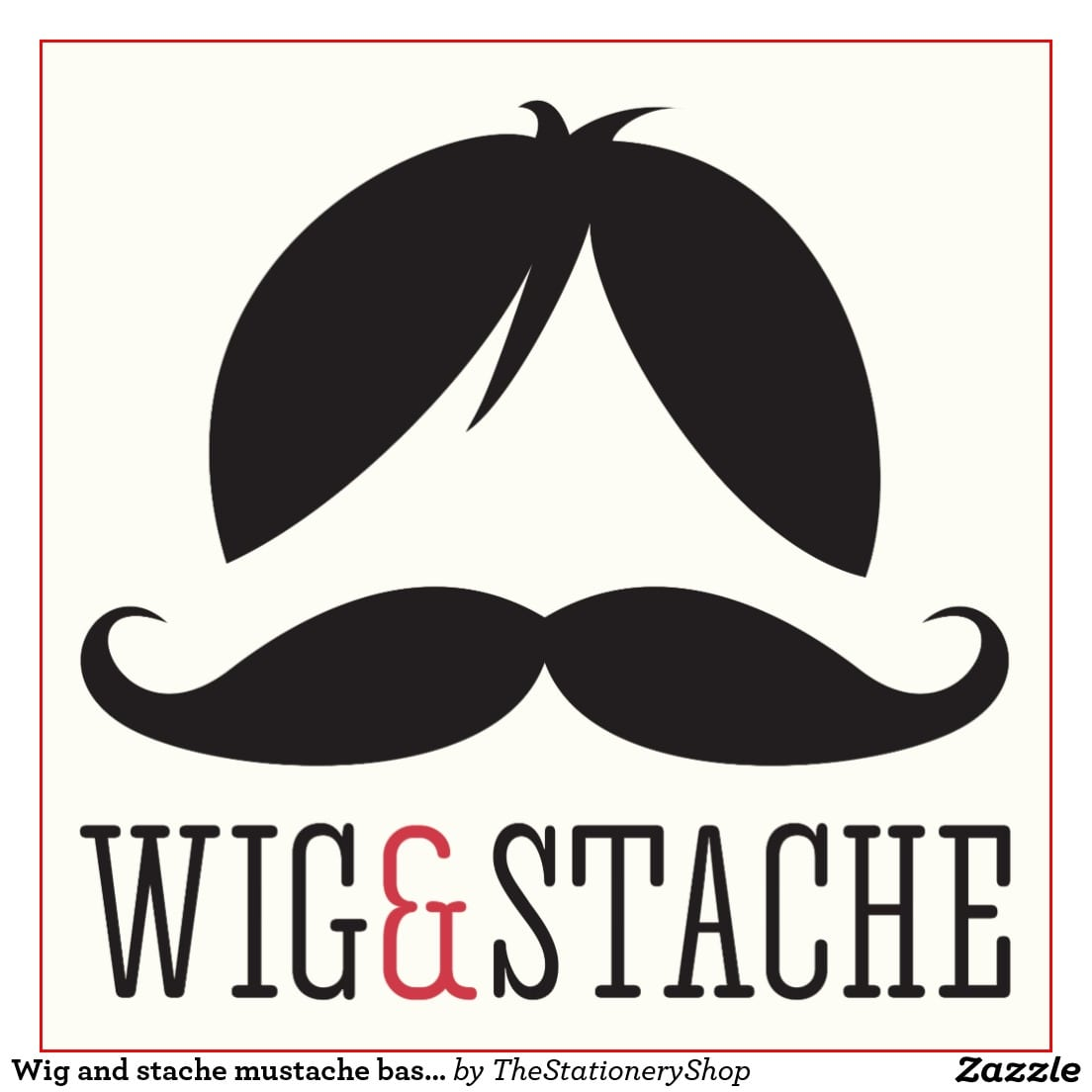 Wig Party Invitations