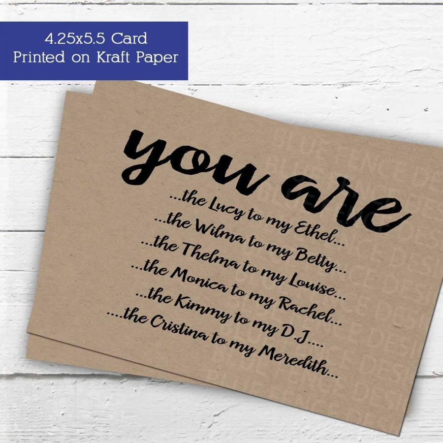Will You Be My Maid Of Honor Card  Or Matron Of Honor  Or
