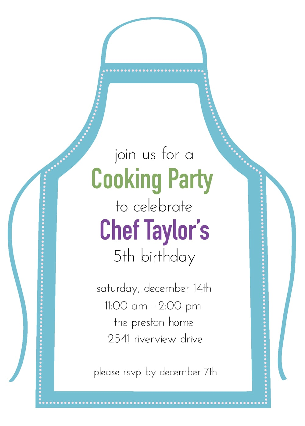 Young Chefs Party