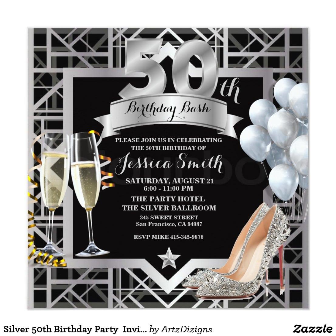 Zazzle Party Invitations