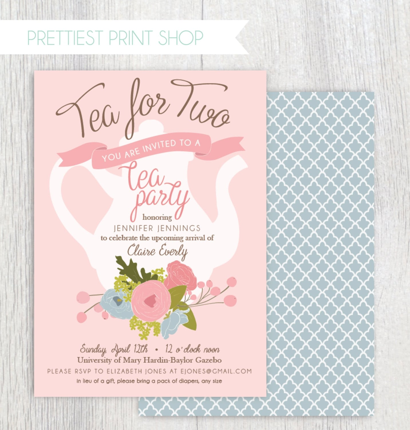 11th Birthday Party Invitation Wording Awesome Printable Tea Party