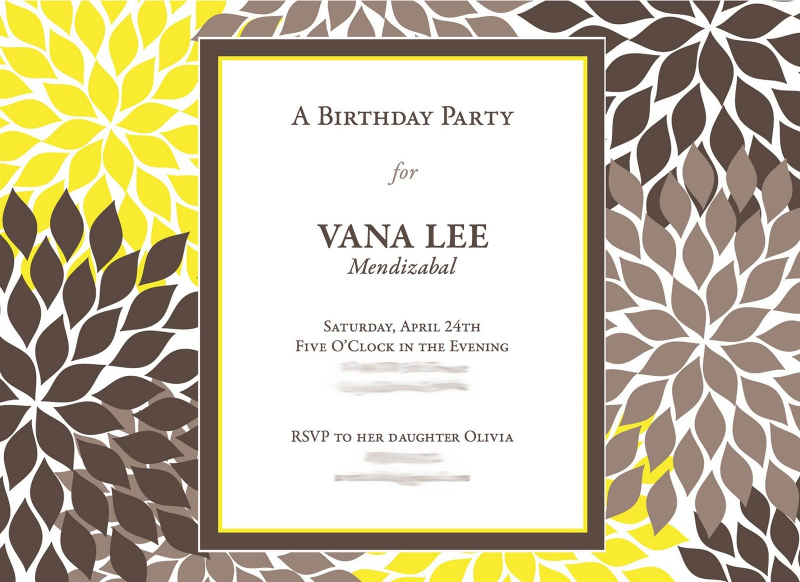 60th Birthday Invitations 60th 75th Party Invites By Tattoo