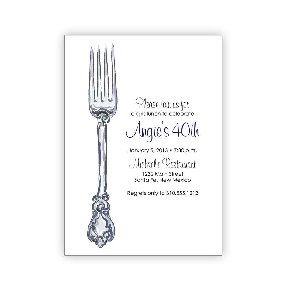Birthday Dinner Party Invitation Card Design Idea   Emuroom