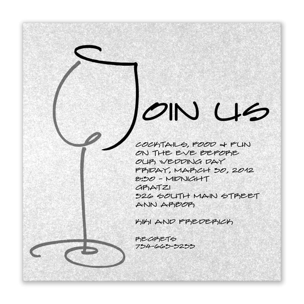 Captivating Dinner Party Invitation Wording  5771