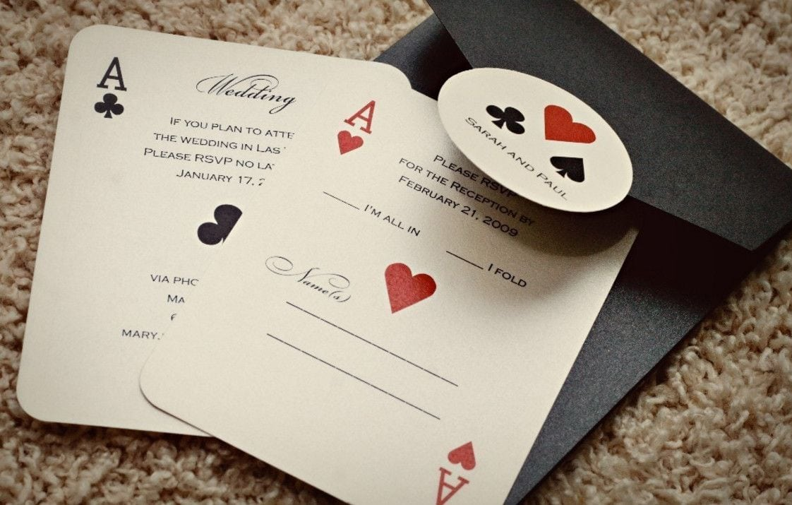 Casino Theme Party Invitations Template …