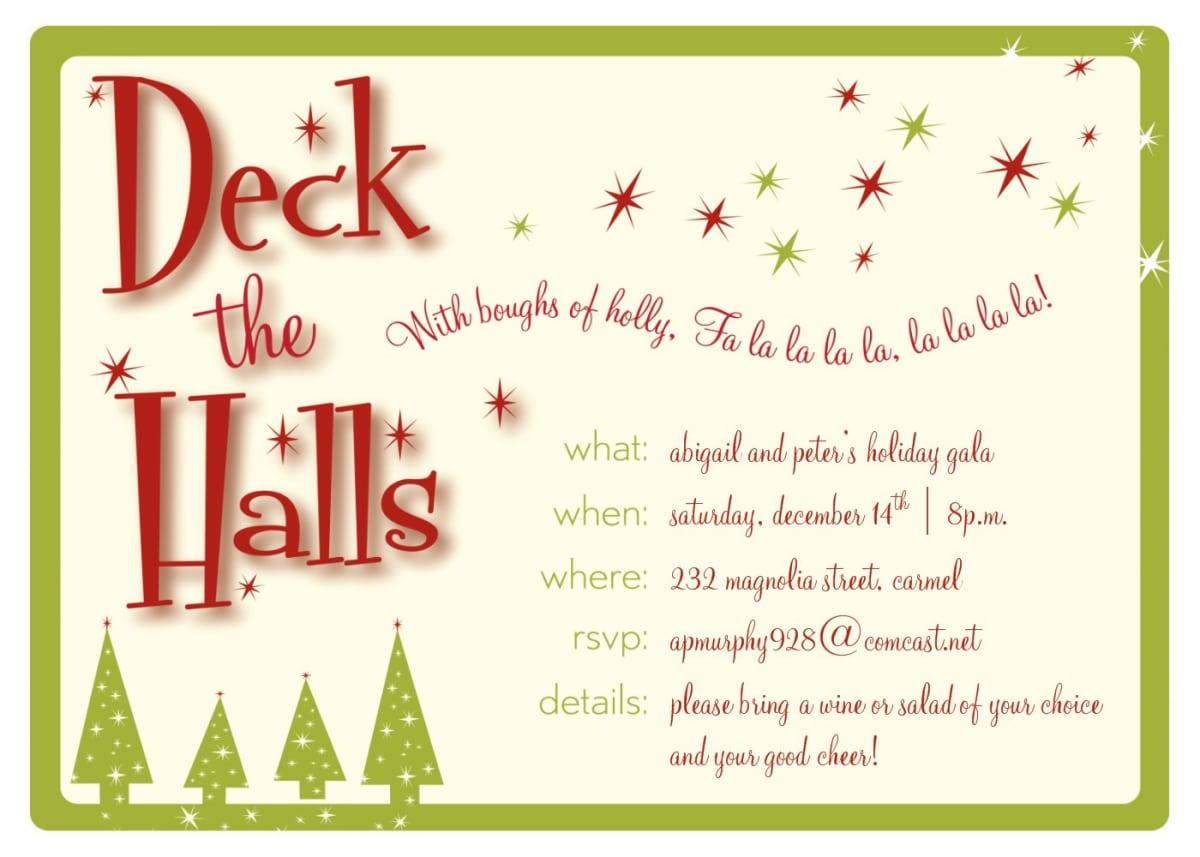 Christmas Invitations Online Free