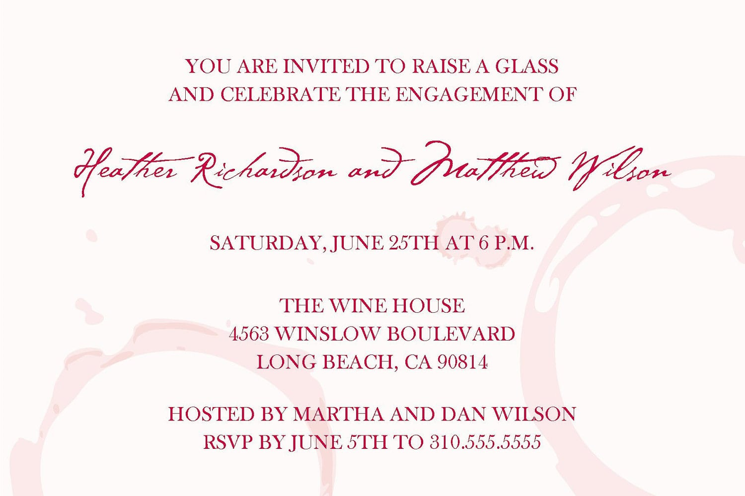 Wine And Cheese Party Invitation Wording - Mickey Mouse Invitations ...