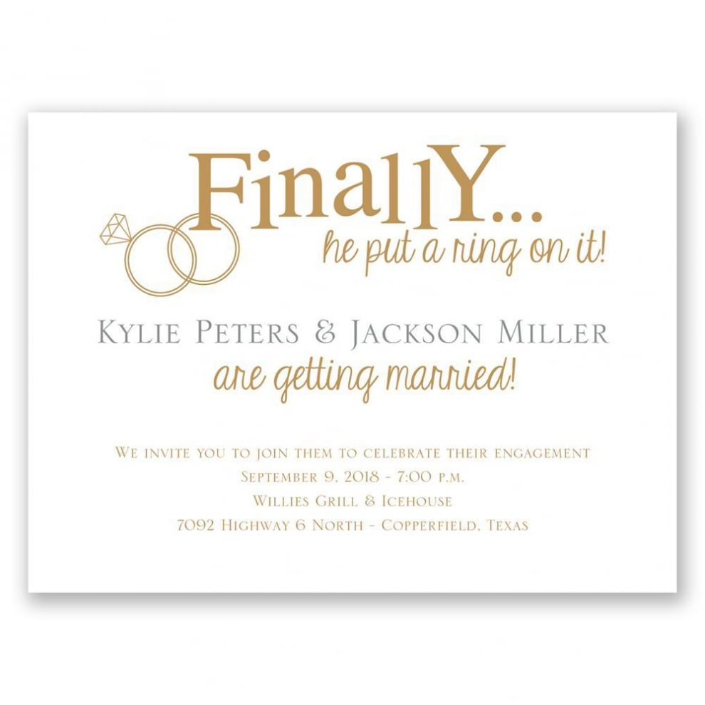 Engagement Party Invitation Wording Engagement Party Invitation