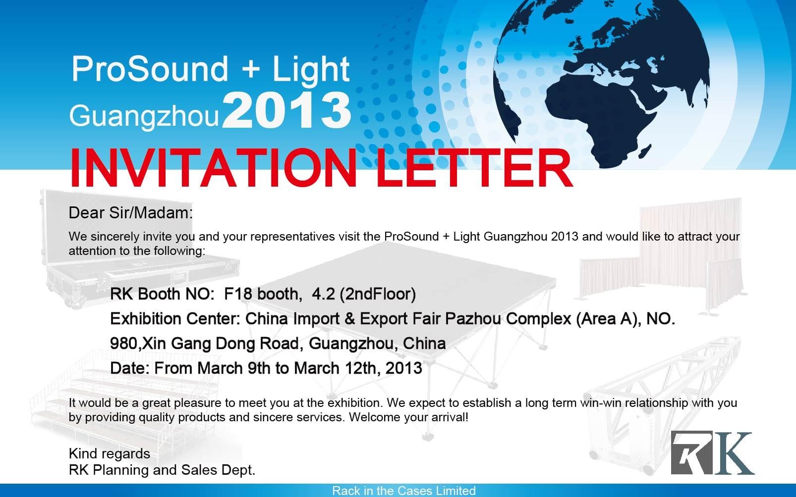 Event Invitation Letter Template Invitation Letter Template
