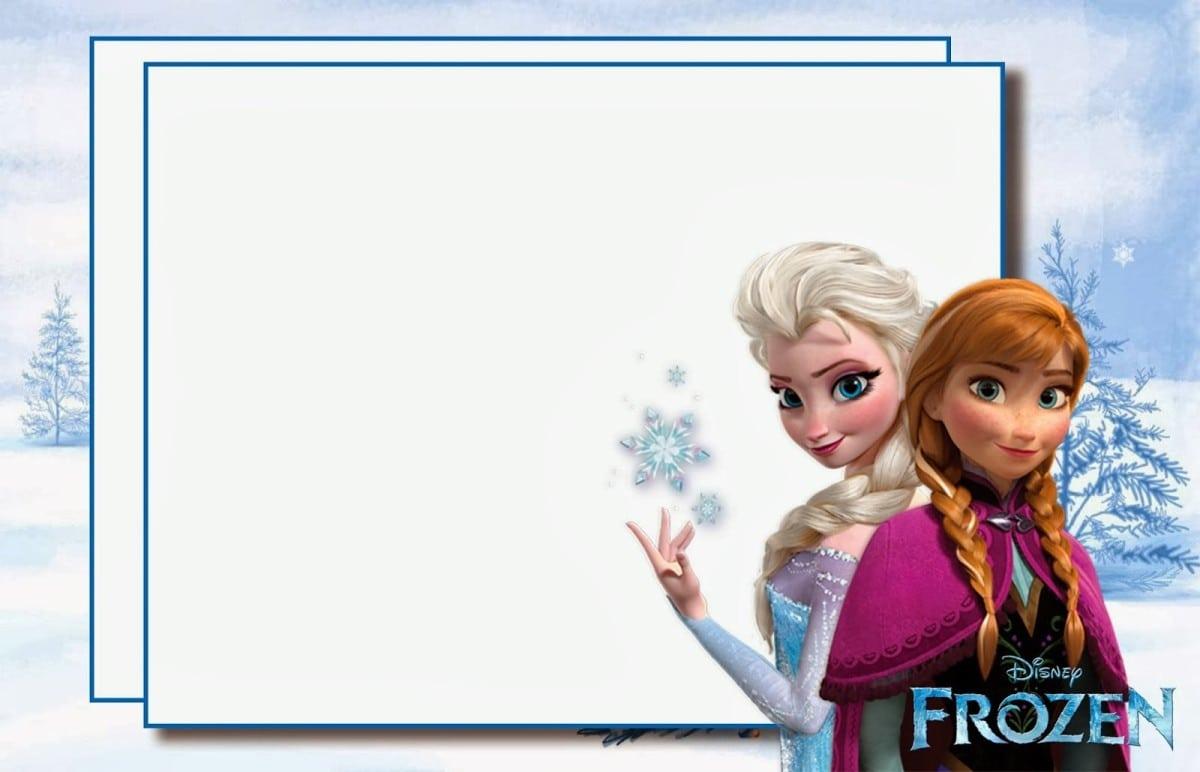 Free Printable Disney Frozen Party Invitation