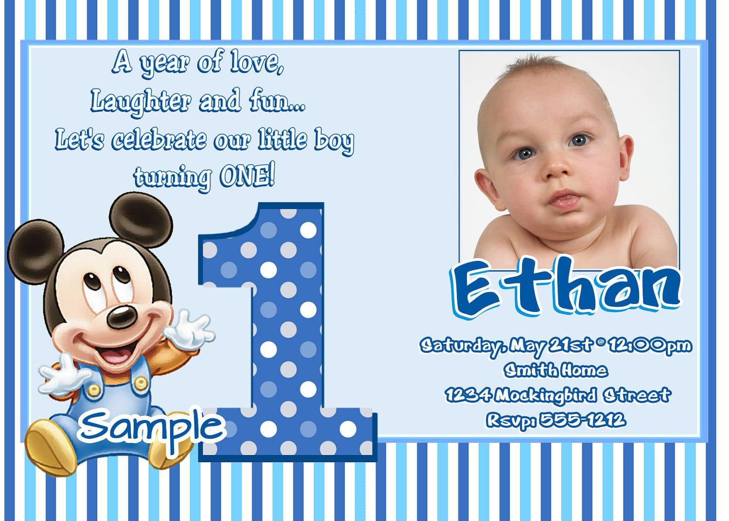 Get 1st Wording Birthday Invitations Ideas