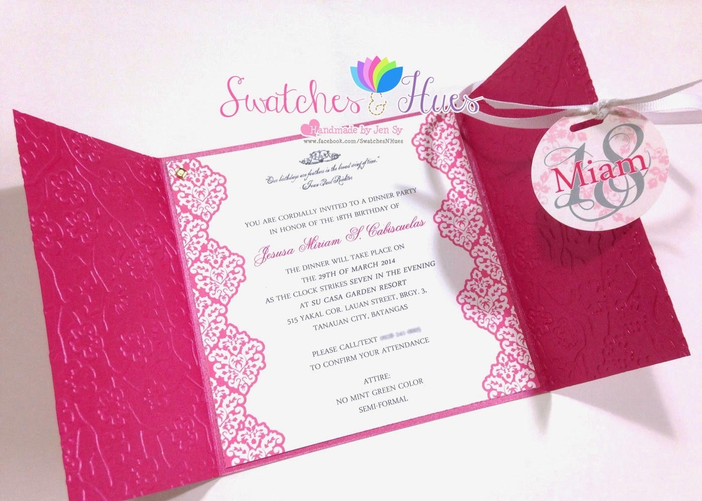 Gorgeous Debut Party Invitation Cards For Efficient Article Happy