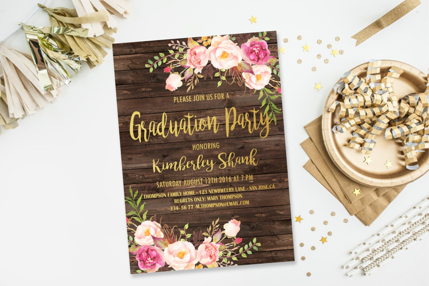 Graduation Party Invitations College Graduation Invitation