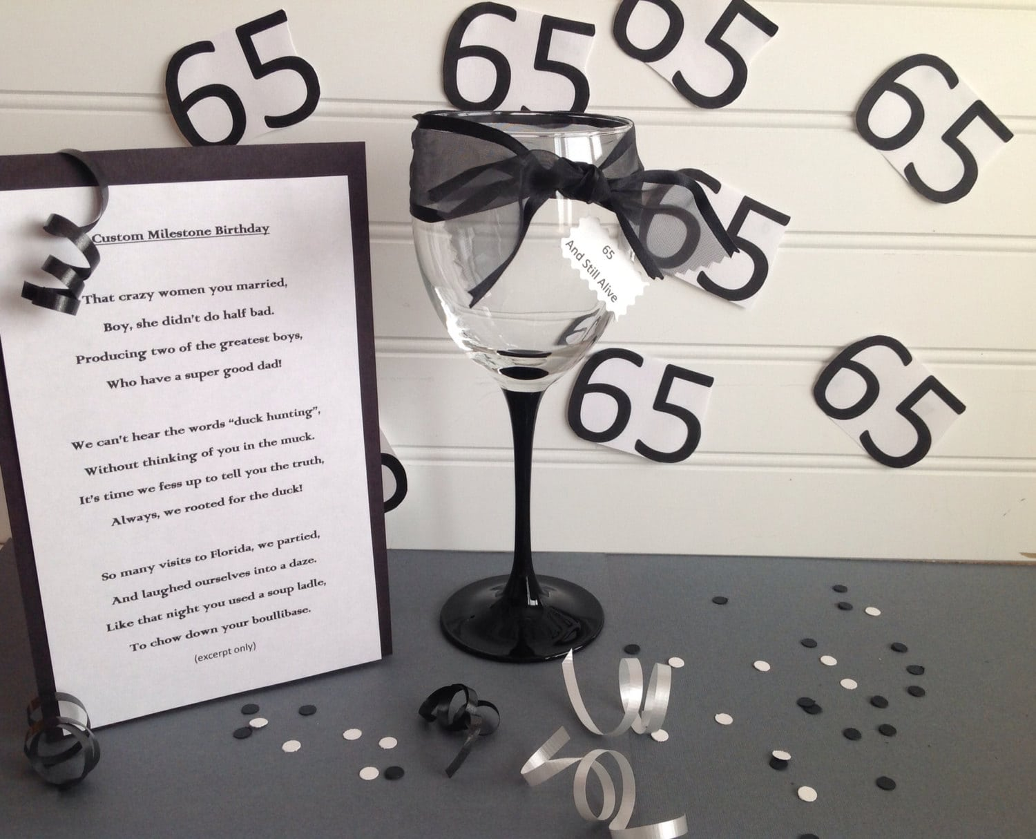 Ideas For A Surprise 65th Birthday Party — Criolla Brithday