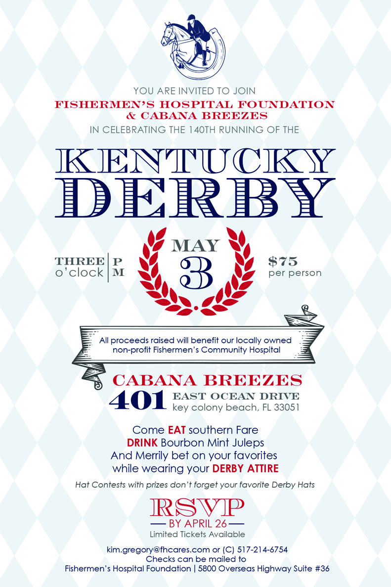 Kentucky Derby Party Invitations Kentucky Derby Party Invitations