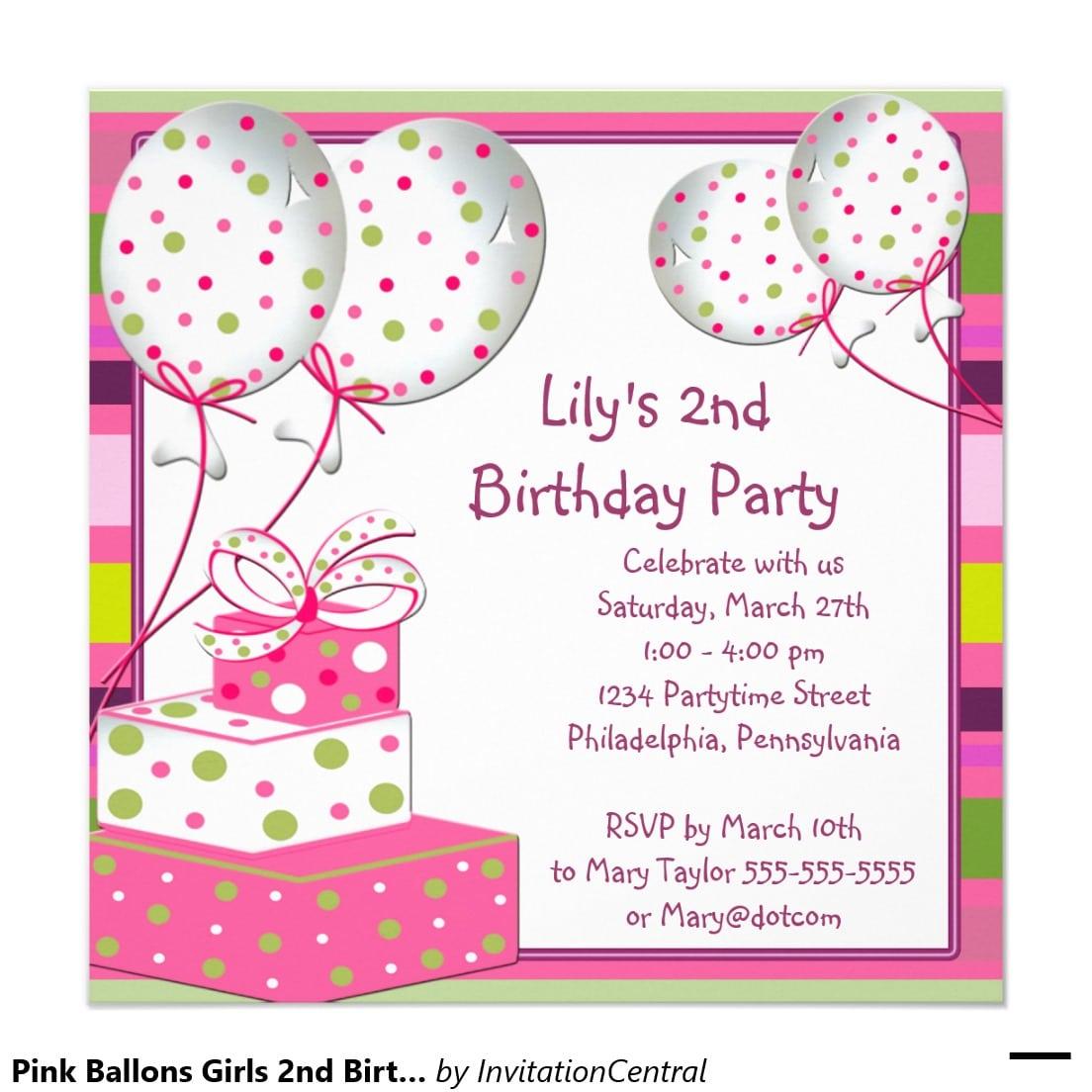 Make Birthday Party Invitations