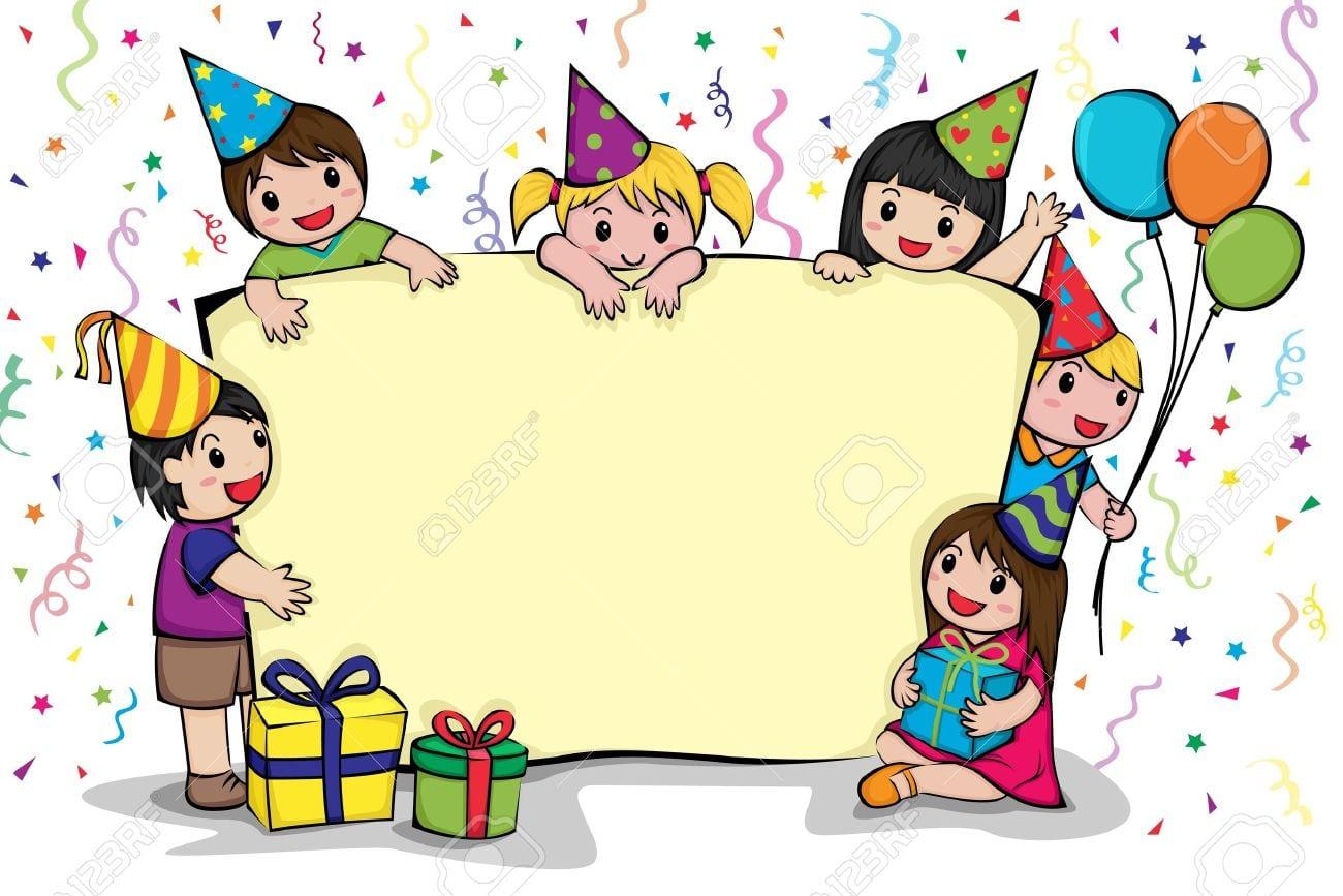 Many Stock Birthday Party Invitation Card Vector Creation