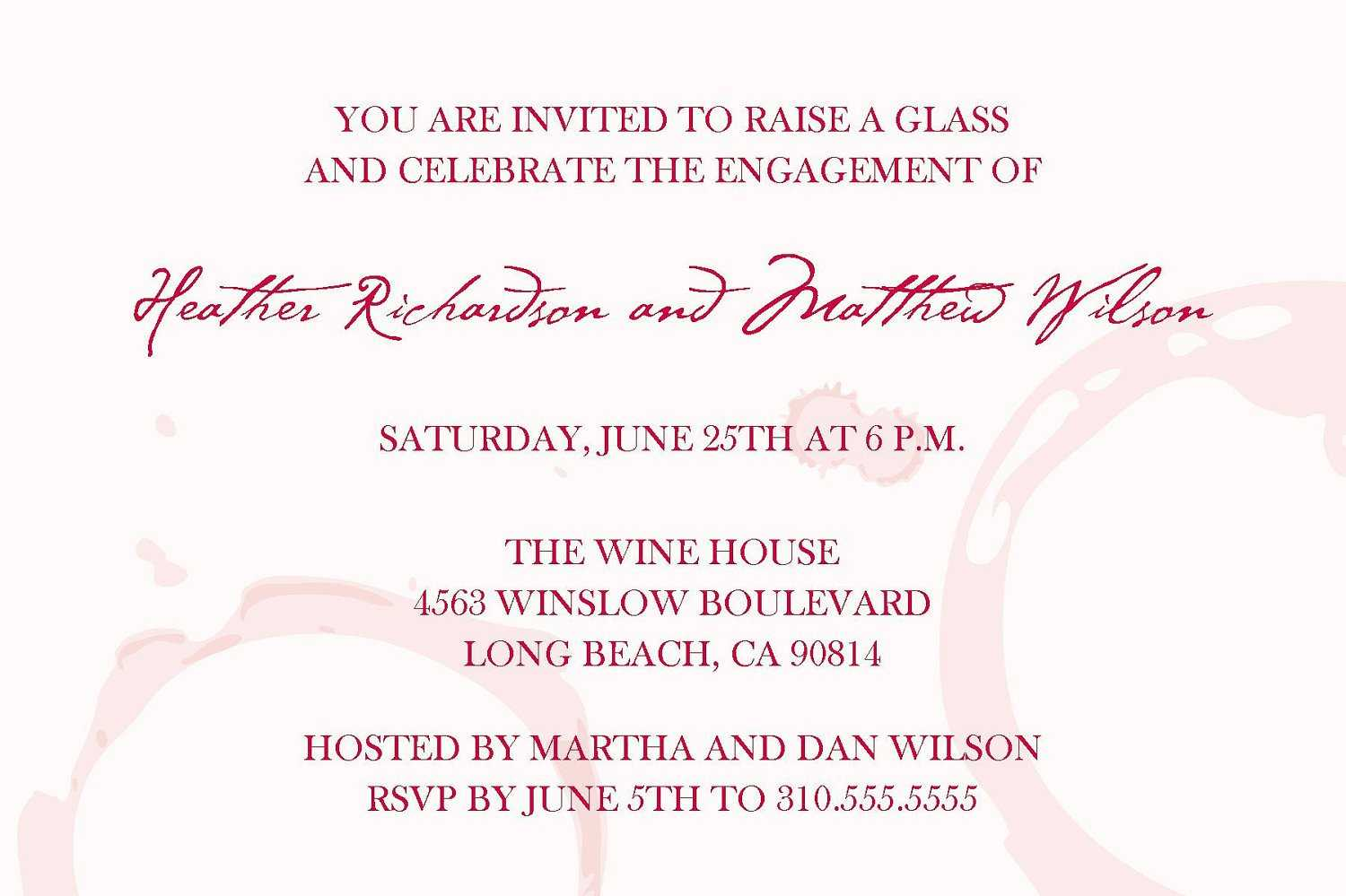 Nice Wine And Cheese Party Invitations Pictures Inspiration