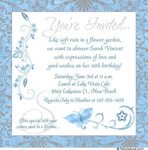 Original Free Invitation Birthday Party Card Especially Different
