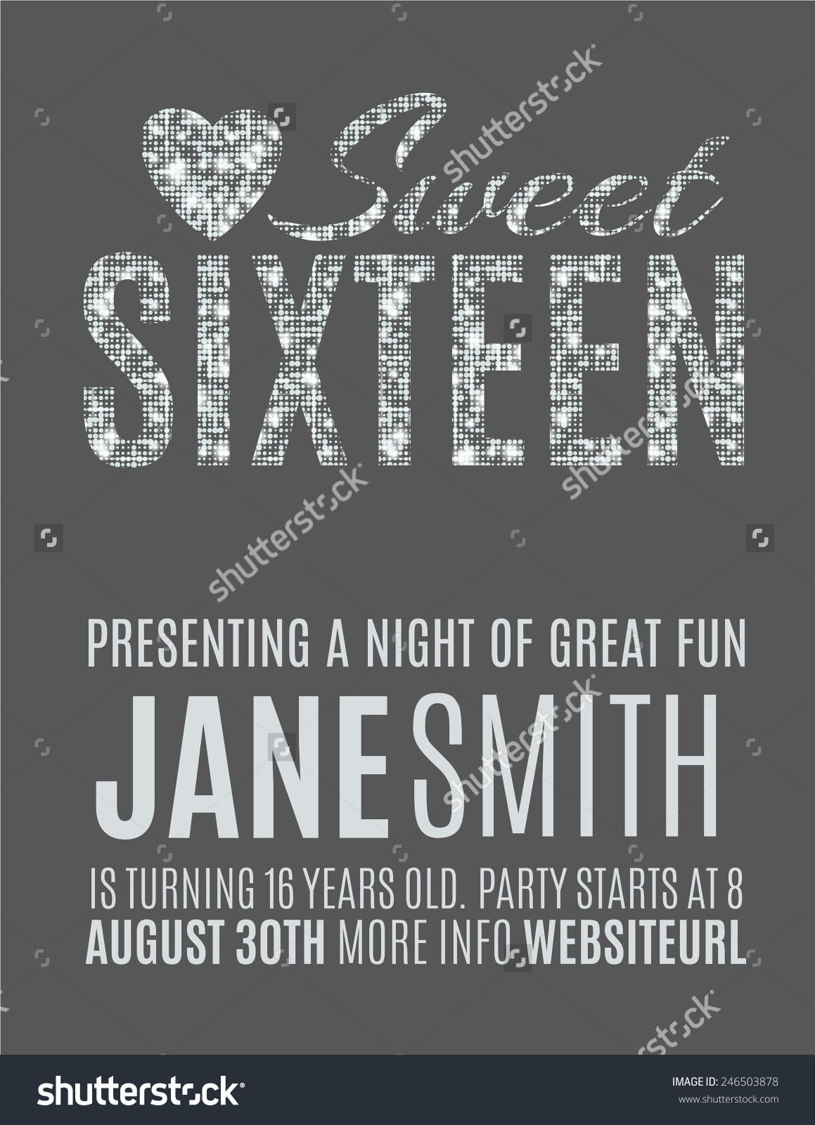 Party Invitation Flyer Templates