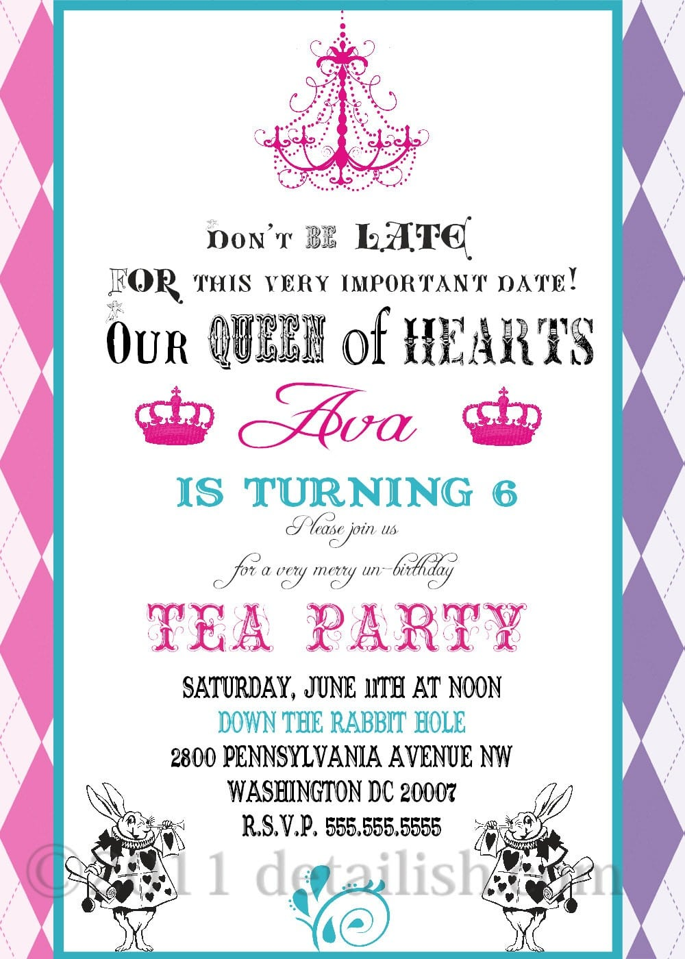 Party Invites Examples