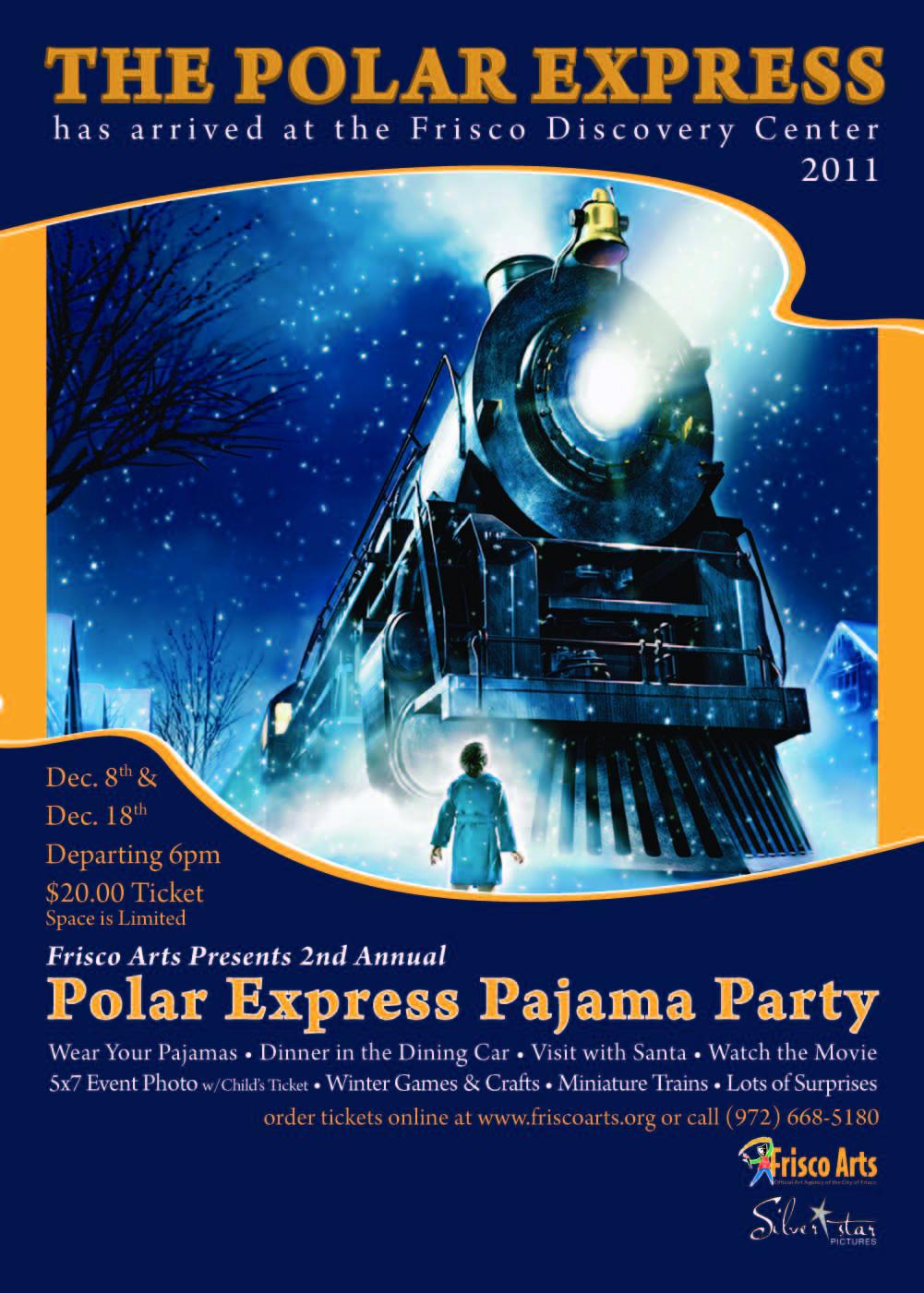 Polar Express Party Invitations