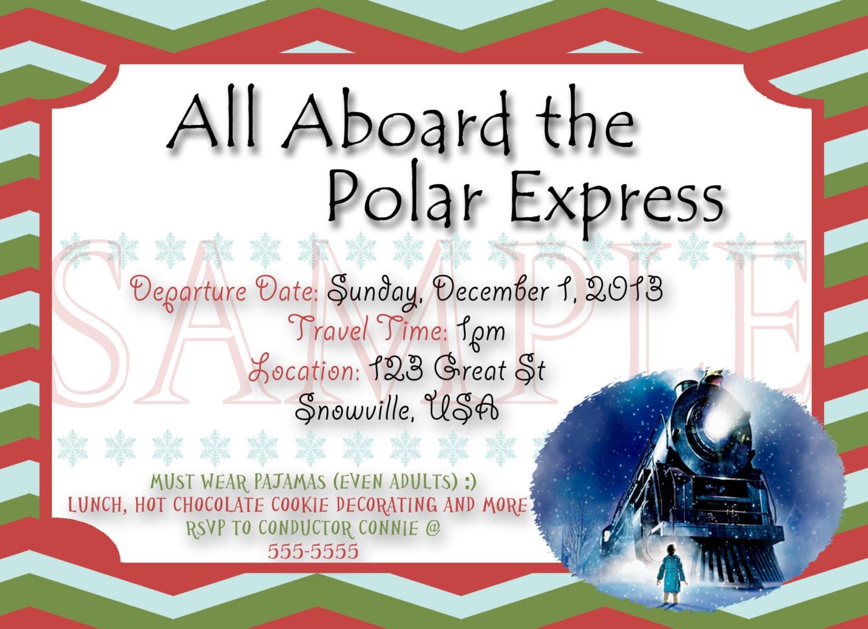 Polar Express Ticket Clipart (45+)