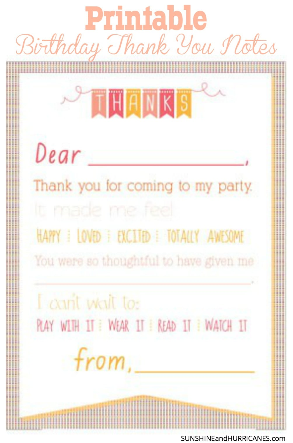 Thank you note for party invitation stopboris Images