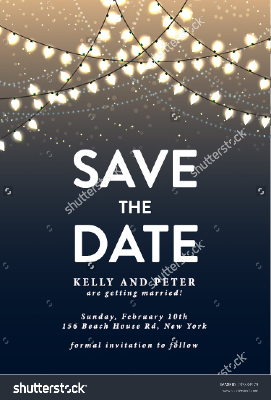 Save The Date Holiday Party Templates