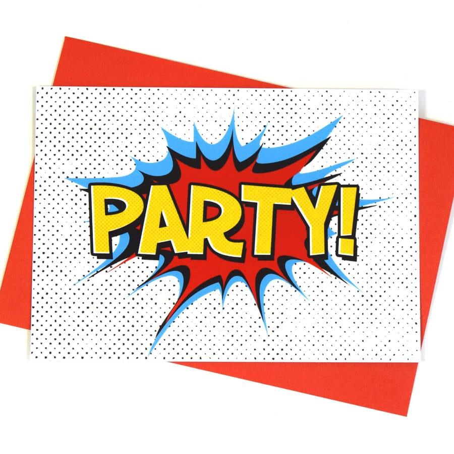 Superhero Party Invitations By Of Life & Lemons