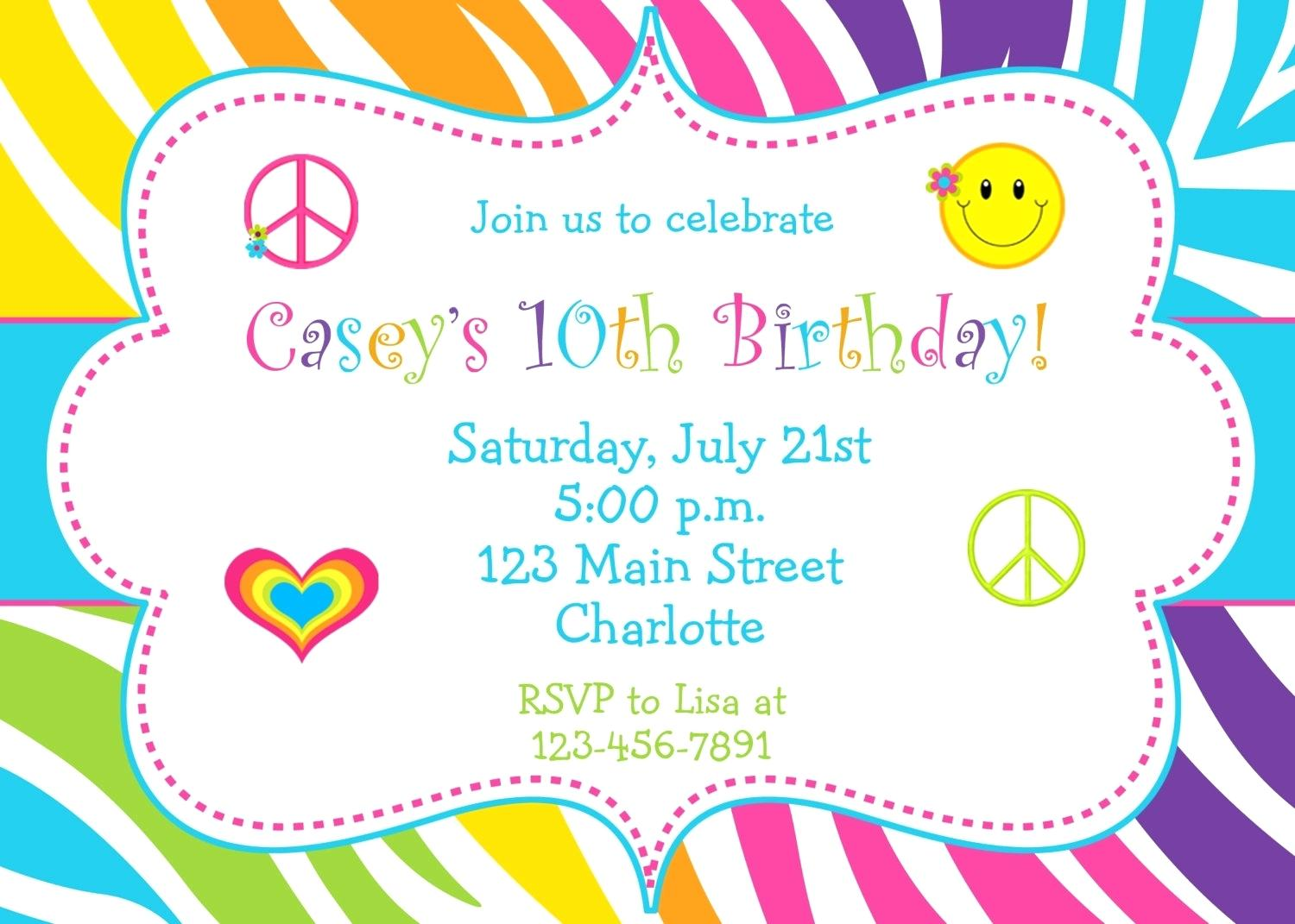 Template  Birthday Sign Template Fun Party Invitations Happy Free
